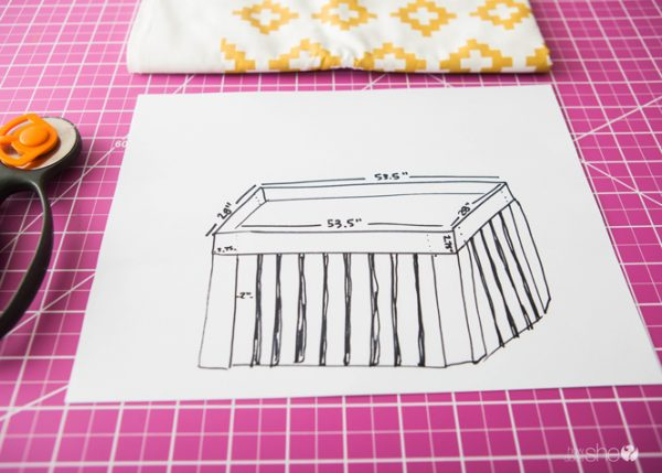 padded crib rail cover tutorial (2)