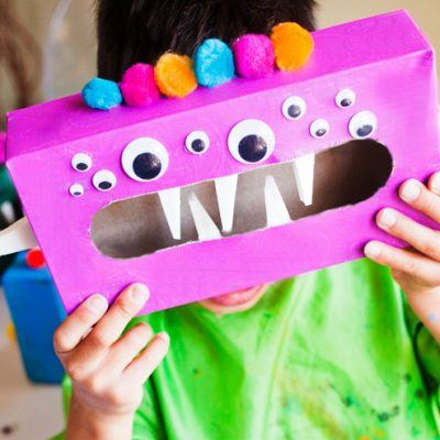 Ease Back-to-School Jitters: DIY Worry Monsters