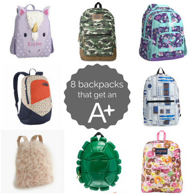 8 Backpacks That Get An A+