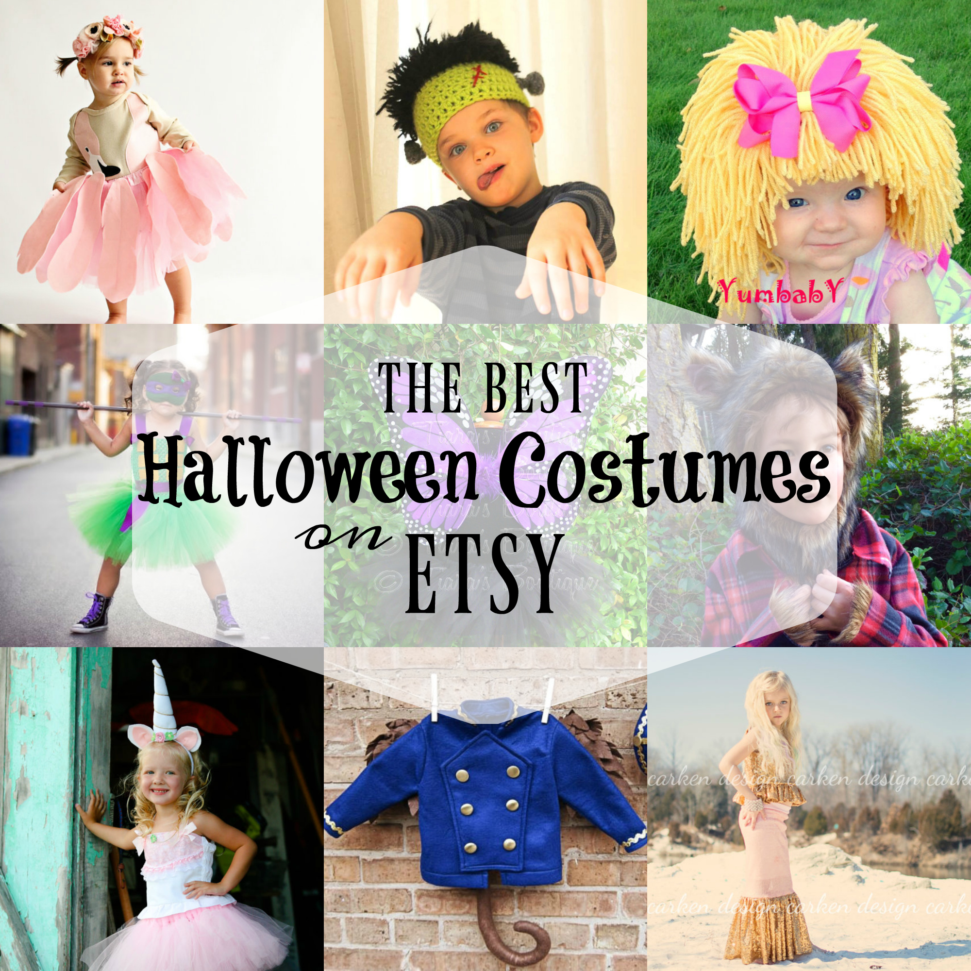 Best Halloween Costumes For Kids on Etsy