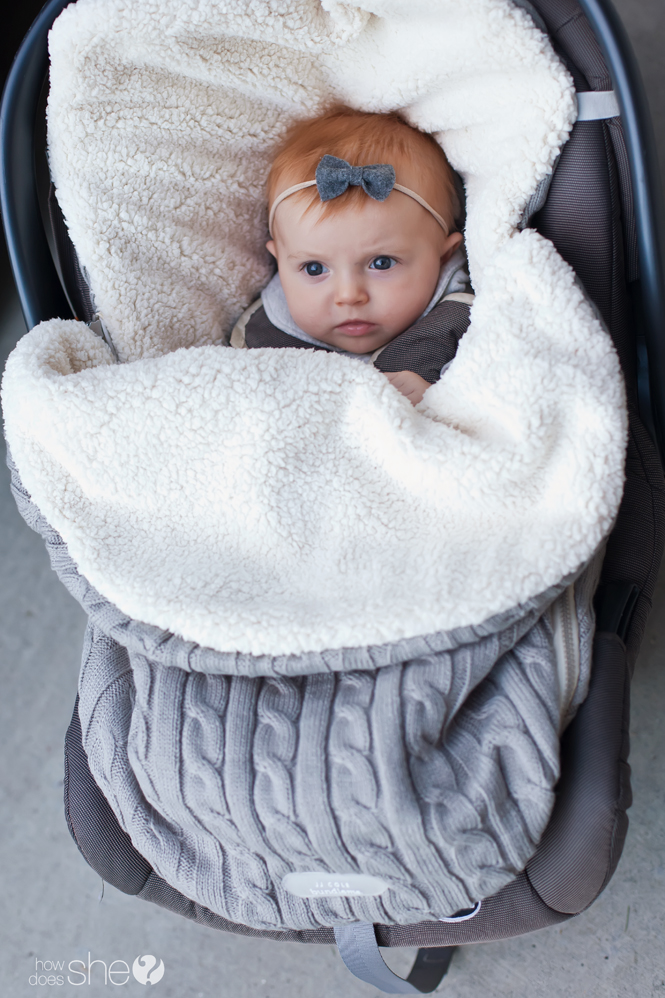 jj cole cable knit bundleme for baby s fashion and warmth how does she. Black Bedroom Furniture Sets. Home Design Ideas