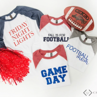 Football Raglan Graphic Tees – $17.95!