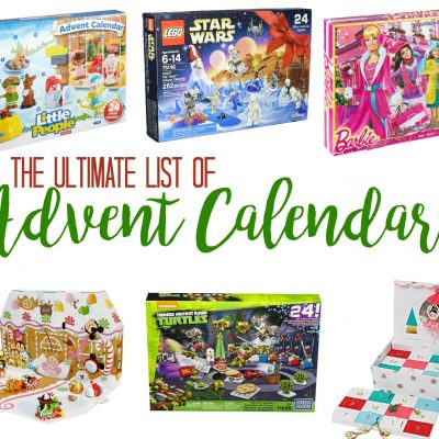 The ULTIMATE list of Advent Calendars