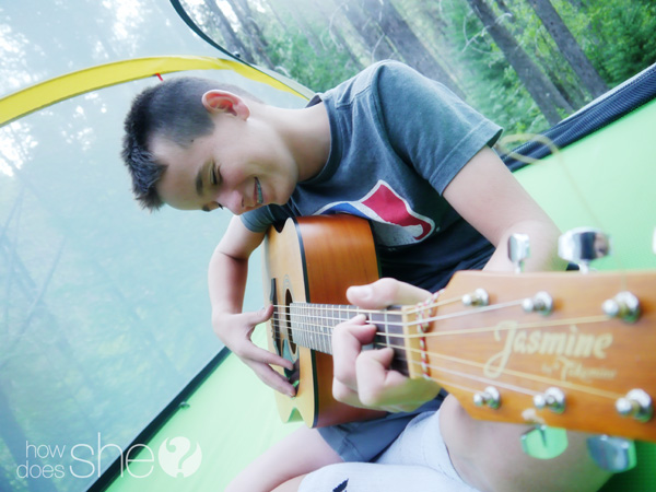 tent guitar