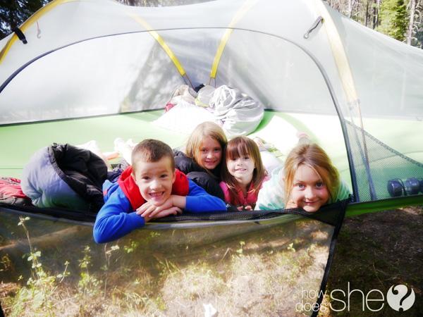tent kids
