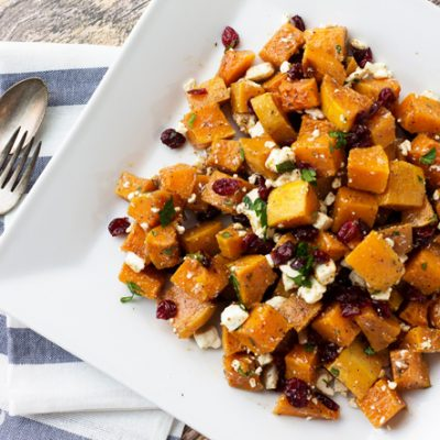 Honey Roasted Butternut Squash Salad: A new Thanksgiving favorite!