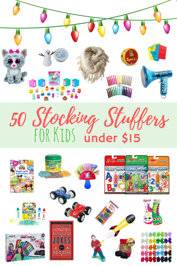 Stocking Stuffers for Kids under $15