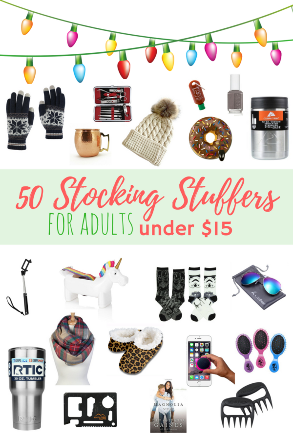 50 stocking stuffers for adults under $15