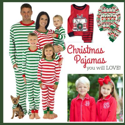 Christmas Pajamas You Will LOVE!