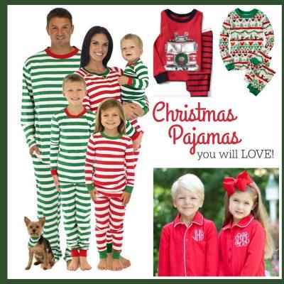 Christmas Pajamas You Will LOVE!