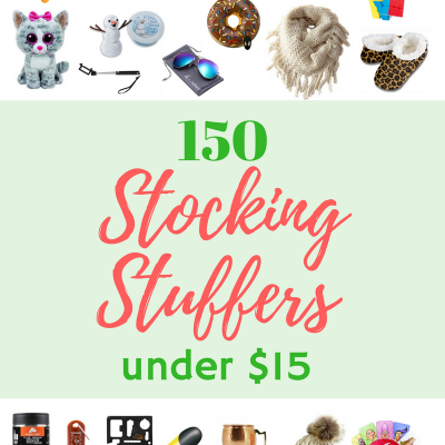 The Ultimate Stocking Stuffer Guide – 150 Stocking Stuffers under $15