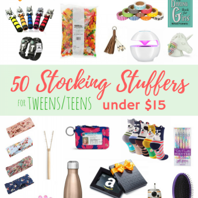 50 Stocking Stuffers for Teens/Tweens