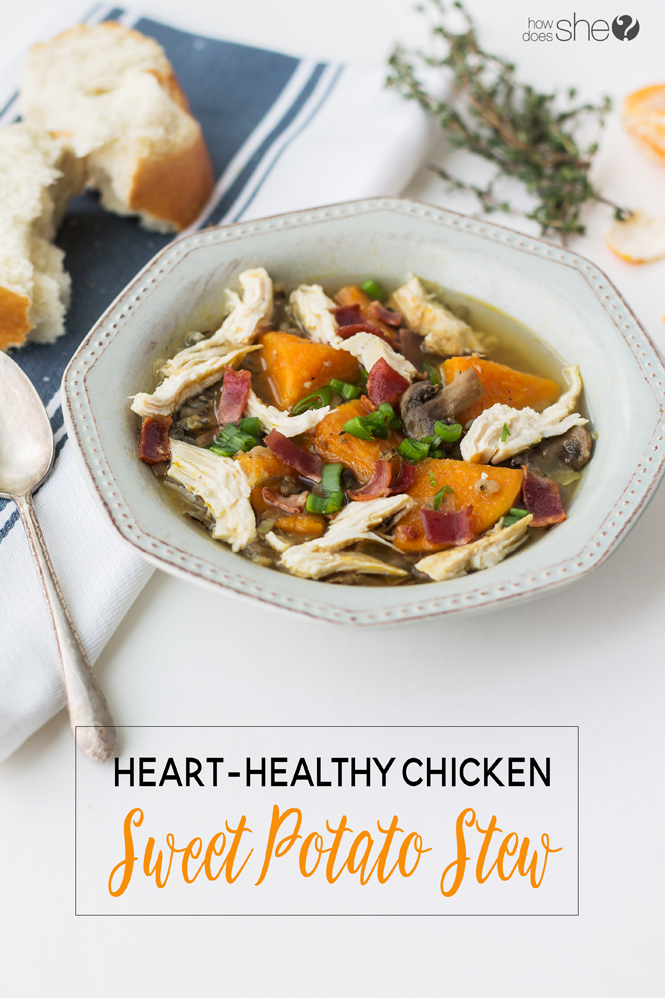 Heart Healthy Chicken Sweet Potato Stew Try This Recipe To Lose Weight