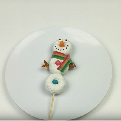 Easy to Make Snowman Treat