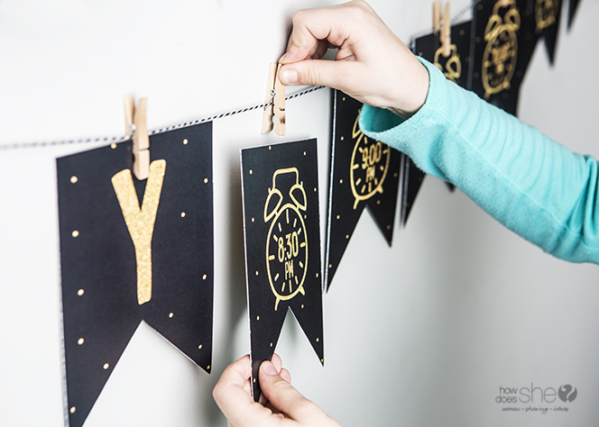 you could also attach an activity idea on the back of each card to do as you wait to ring in the new year here are some ideas to get your creative juices