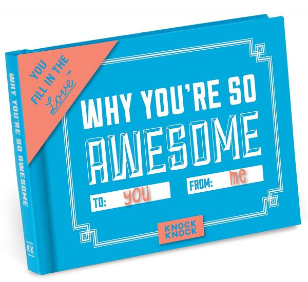 "photo of ""Why You're So Awesome"" book"