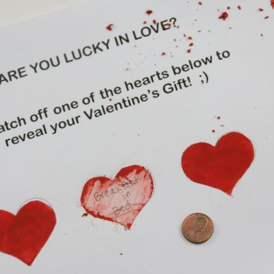Valentine's Day Scratch off Cards – DIY Easy to Do!