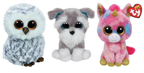 photo of three Beanie Boos toys