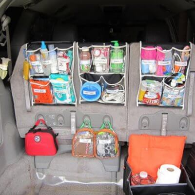 15 Car Organization Hacks any Mom would Love