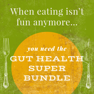 Let's Get Gutsy! Your gut NEEDS this!
