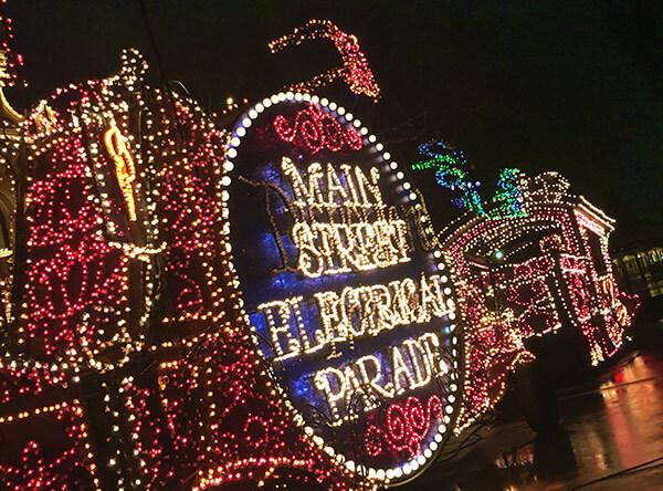 Main Street Electrical Parade at Disneyland in 2017