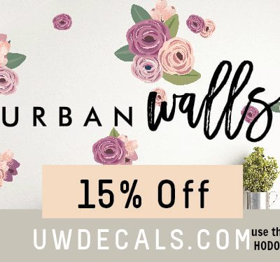 Gorgeous Wall Decor from Urban Walls  **An Exclusive Deal for HowDoesShe Readers**