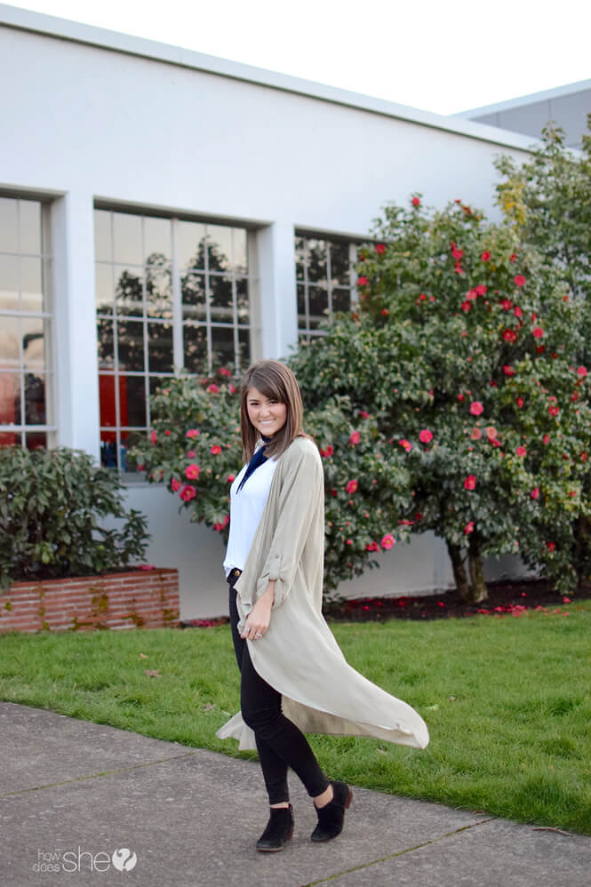 How to Wear a Duster Cardigan Casual vs Dressy