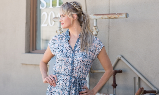 The Perfect Lucky Brand Summer Dress and 40% off Memorial Day Sale