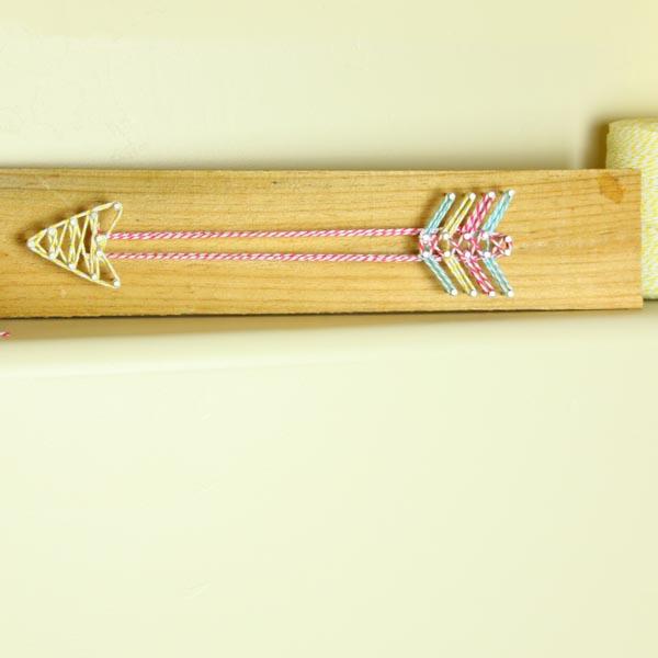 DIY Arrow String Art