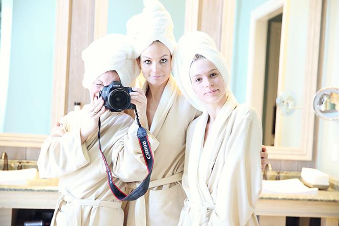 girls day spa