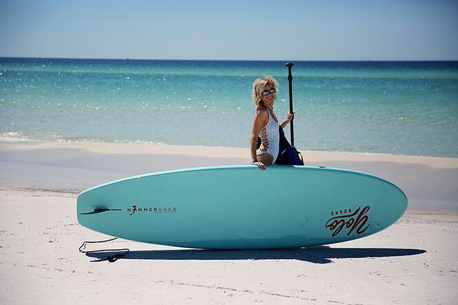destin paddle boarding