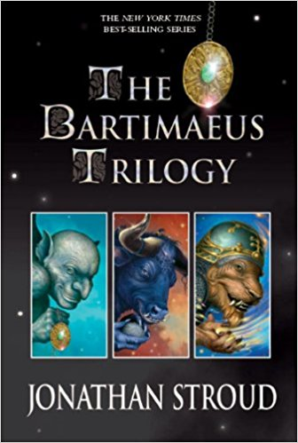 Books like Harry Potter for teens - The Bartimaeus Trilogy