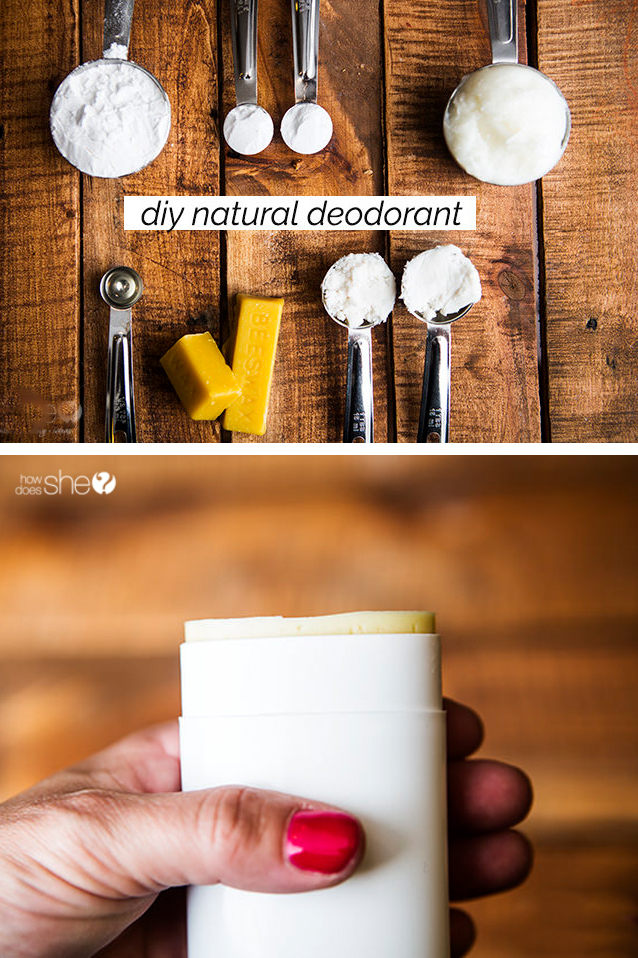 DIY Natural Deodorant with Essential Oils | How Does She