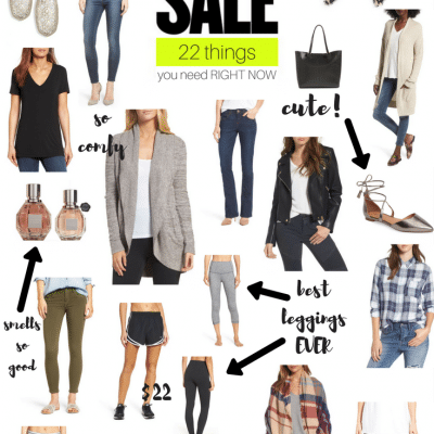 Nordstrom Anniversary Sale: 22 Things You Need RIGHT NOW!!!