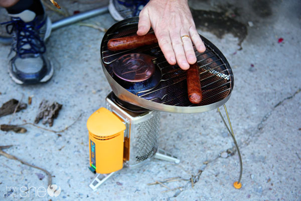 camp stove for hiking to Havasupai Falls