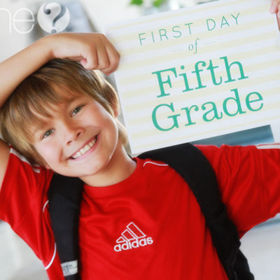 FREE Exclusive 1st day of School Printables