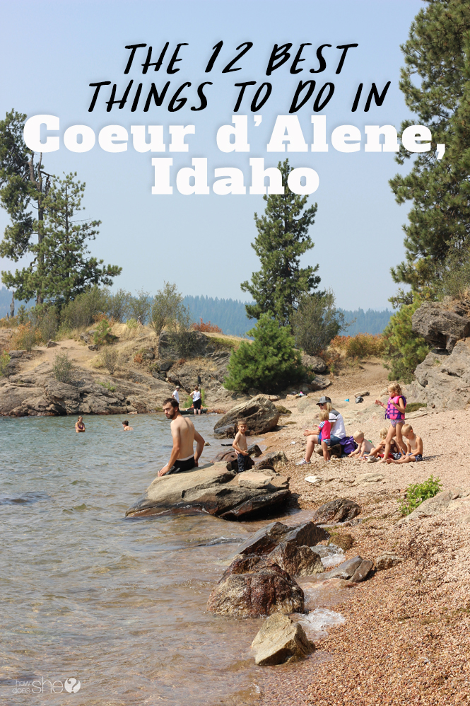 best things to do in Coeur d'Alene Idaho