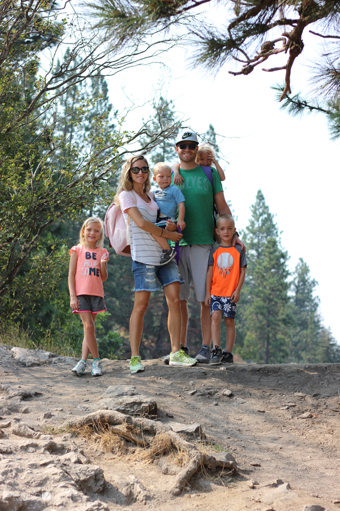 photo of family in Coeur d'Alene Idaho