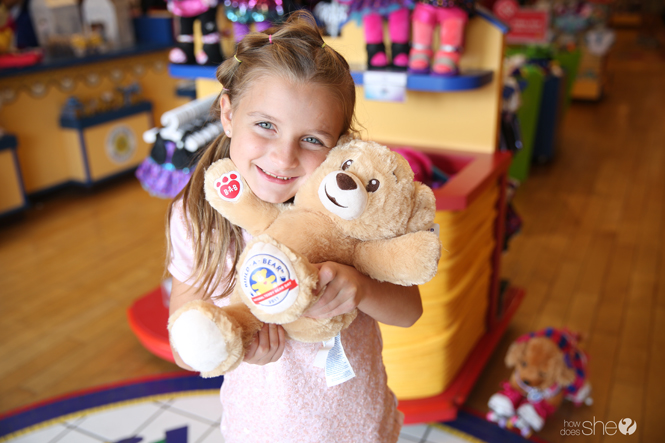 Celebrating #NationalTeddyBearDay: Our First Stuffed Animals and $5.50 Teddy Bears at Build-A-Bear Workshop!
