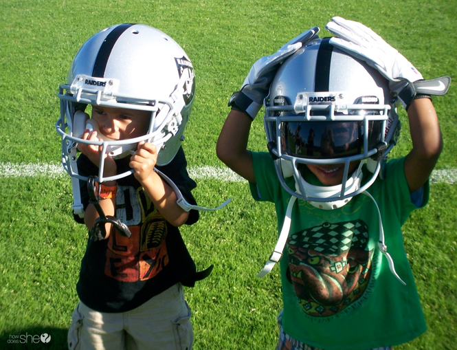 Little boys with big football dreams | How to Raise a Professional Athlete