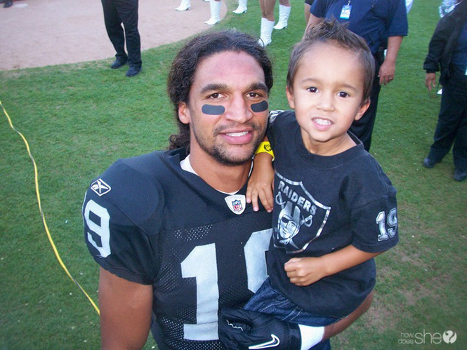 A NFL player who want and his son | how to raise professional athletes