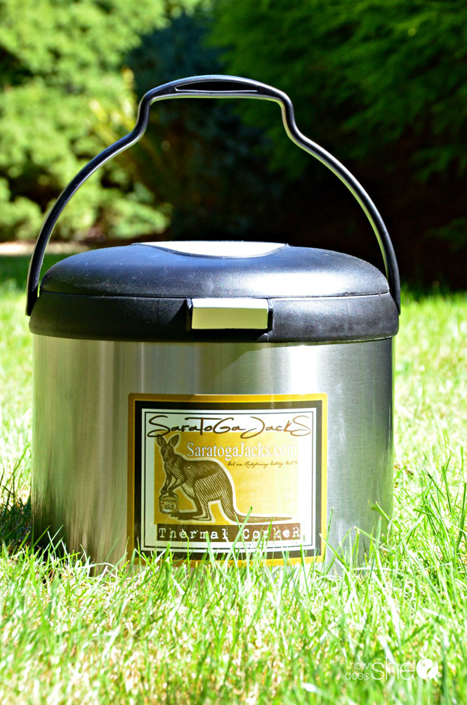 Thermal Cooking – Easy Portable Dinners
