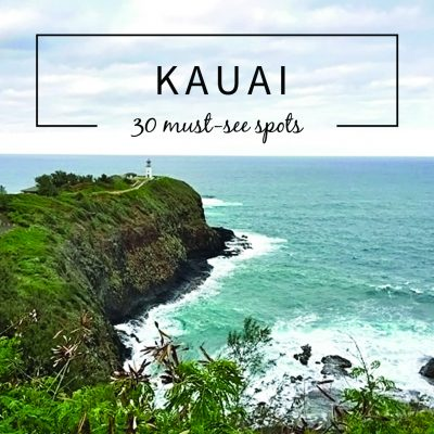 KAUAI travel-30 Must See Spots From a Hawai'i Resident