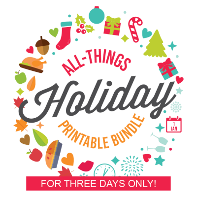 The Ultimate Holiday Printable Bundle – 3 Days Only!!!!