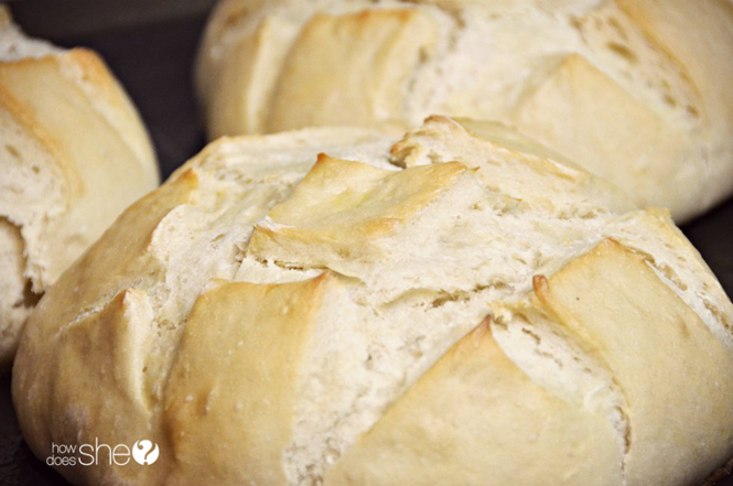 hygge fresh baked bread