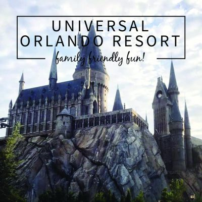 Family Friendly Fun @ Universal Orlando Resort