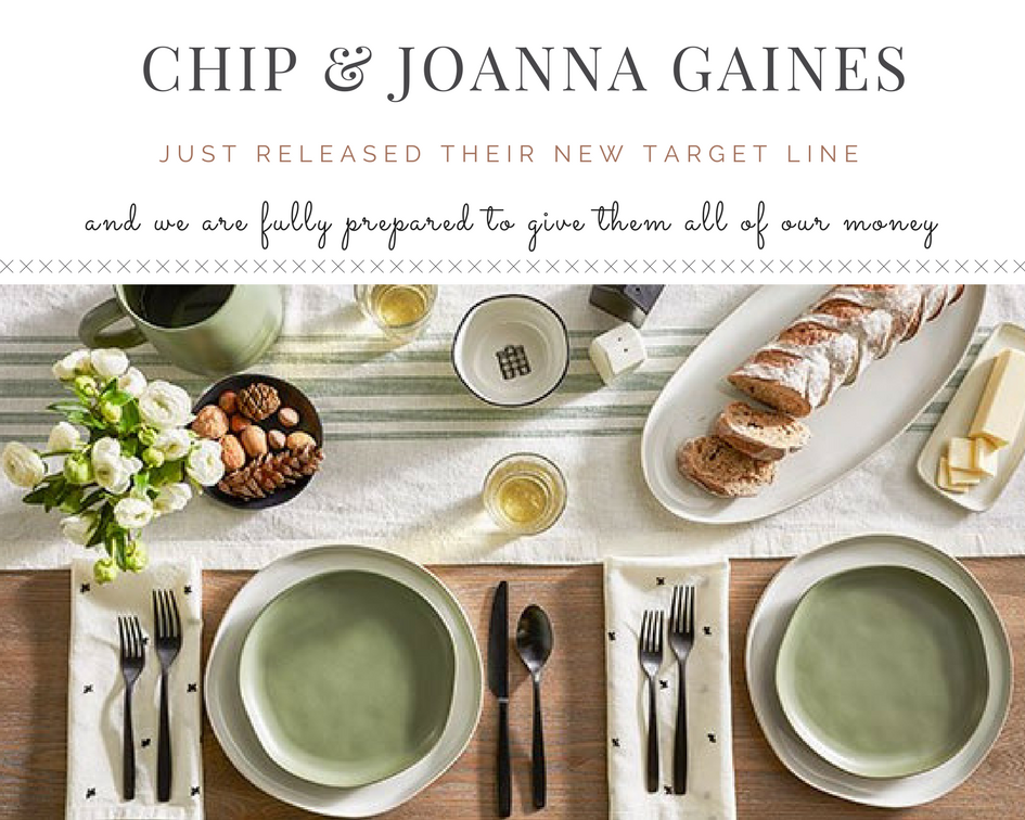 Chip Joanna Gaines Just Released Their New Target Line