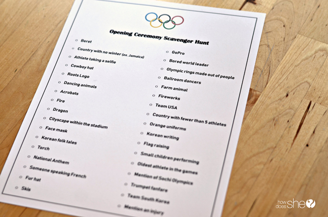 Olympics with kids