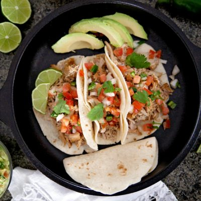 Easy Electric Pressure Cooker Pork Carnitas – in an hour!