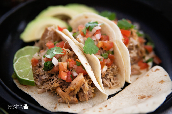 tender pork carnitas in your electric pressure cooker